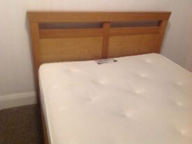 King side bed