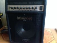 BEHRINGHER BX1200 BASS AMPLIFIER