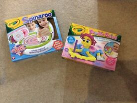 Two crayola packs for age 3+