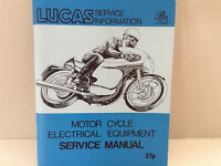 LUCAS Motorcycle Electrical Service Manual
