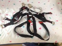 JSP SAFETY HARNESS WITH LANYARD