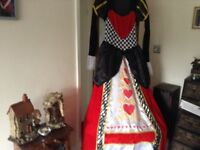Queen of hearts outfit
