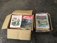 Large Collection of Fishing Magazines