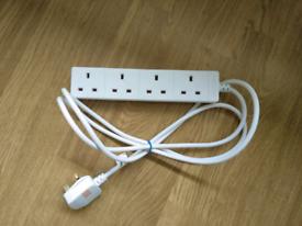 Masterplug 4socket 2M extension lead