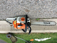 Stihl MS 260 Chainsaw - $350