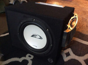 Subwoofer alpine type E12