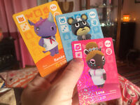 LOOKING FOR ANIMAL CROSSING AMIIBO CARD TRADERS!!!!!!!