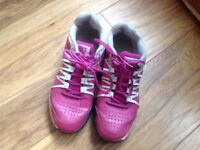 Pink Nike trainers size 6