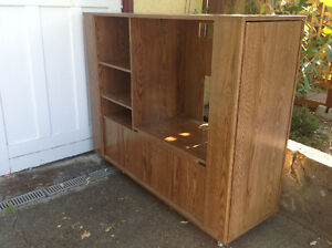 """FREE""  TV Stand with DVD & CD Storage"
