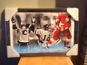 Curtis Glencross hand signed numbered print