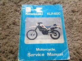 Klr 600 service manual