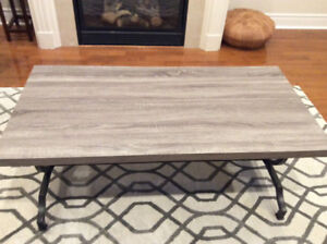 Coffee Table and one matching side table