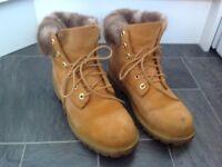 Timberland boots size uk 5-5.5