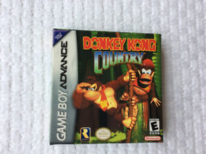 """""""Donkey Kong Country"""" (NINTENDO GBA) - Box & Game ~ Only $20 !!"""