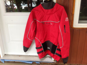Dry top women's for whitewater kayaking or canoeing