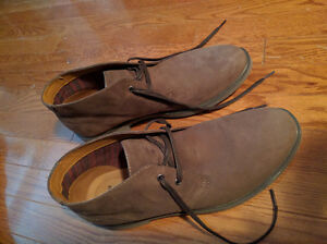 NEW IN BOX - Clark's Brown Suede Leather Boots (Paid $120) London Ontario image 4