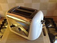 Morphy Richards Cream 2 Slice toaster