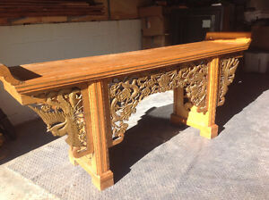 Ornate Chinese table