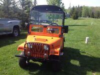 Jeep golf cart custom