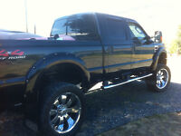 Trade:2008 F250 Diesel for Motorhome for mobile cancer care unit
