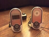 For sale - Motorola baby monitor