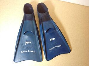 Voit Skin Diver snorkel scuba swim fins - size Medium