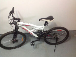 "White 26"" CCM ALPINE 21 speed Mountain Bike for sale"