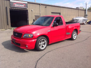 1999 FORD F150 LIGHTING SVT SUPERCHARGED TRADES WELCOME