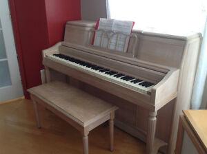 Piano antique Langelier