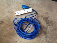 Electric Hook Up for Camping or Caravaning