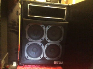 Speakers TOA Ooncert  RSussex-20 -400  Watt Hi end $200.00
