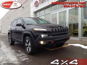 2017 Jeep Cherokee Trailhawk  - Bluetooth - $267.00 B/W