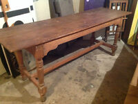 Old Post Office Table