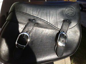 Harley Davidson Leather Saddle Bags