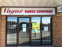 Rental Space- Vogue Dance Company