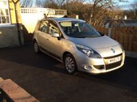 RENAULT SCENIC 1.6 i MUSIC, 2010, ONLY 48k MILES, PRIVATE SALE