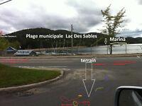 terrain chalet maison Liquidation Laurentide 15 M St Sauveur Lac