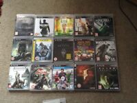 PS3 GAMES BUNDLE 6 for £10 collection or postage and packaging charges apply