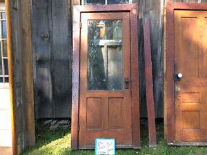 Antique door ways