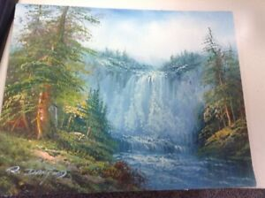 Oil Painting by R. Danford