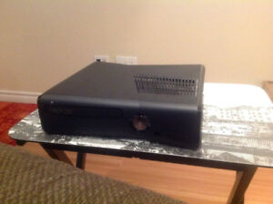 Xbox 360 Slim With 2 Controllers and 12 Games