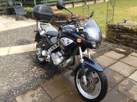 Bmw f650cs scarver motorbike motorcycle touring bike