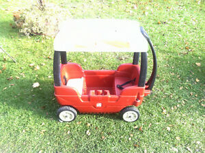 TOYS R US RED WAGON WITH CANOPY FOR SALE