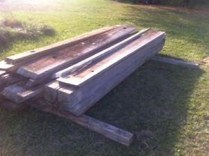 Greenheart lumber