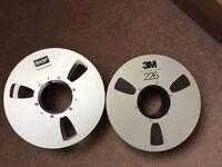 2 inch Reel To Reel Audio Tape X2