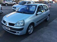 2004 Renault Clio 1.2 Dynamique-12 months mot-ideal first car-cheap insurance