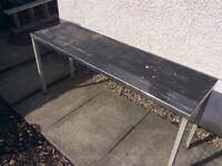 Potting Table Steel framed