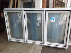 Jeld wen aluminum clad casement windows(NEW)