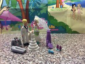Polly Pocket wedding Scene