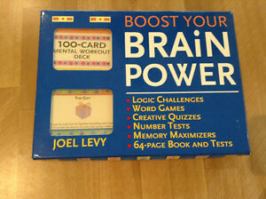 """NEW """"BOOST YOUR BRAINPOWER"""" GAME"""